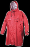 Poncho cagoule front zip - Camp