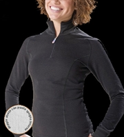 Thermal Shaped Turtleneck With Zip - BIOTEX